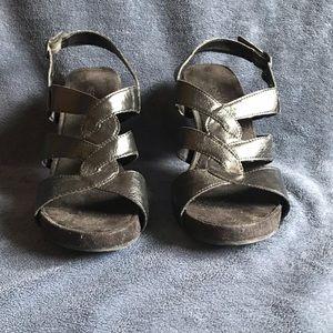 Aerosoles Black heeled sandals sz8